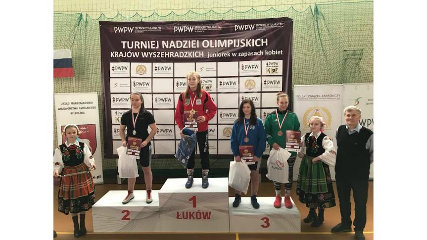 Sukces na Pucharze Polski Kadetek Kliknięcie w obrazek spowoduje wyświetlenie jego powiększenia
