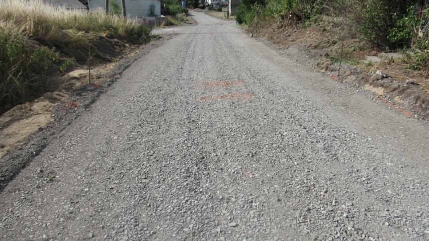 Przebudowa odcinka drogi gminnej  w Samsiecznie  Kliknięcie w obrazek spowoduje wyświetlenie jego powiększenia